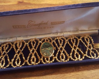 Lovely Crawford Ladies Bracelet Watch