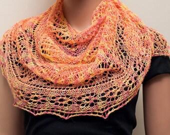 "Pattern for lace shoulderette ""Colette"""