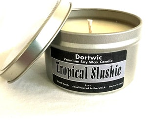 Tropical Slushie Scented Soy Candle
