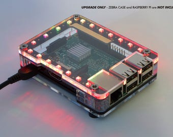Galaxy LED Circuit Board Upgrade for the Zebra Case  w Individual Addressable RGB