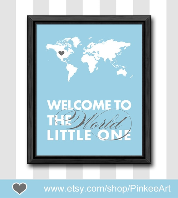 Travel baby nursery decor world map nursery new mom gift like this item gumiabroncs Image collections