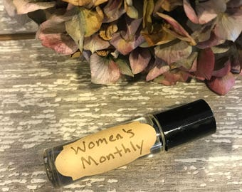 Women's Monthly Essential Oil Rollerball - Essential Oil Rollerball - Time of the Month