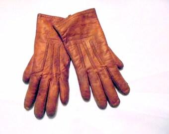 Adler's Children's Leather Gloves