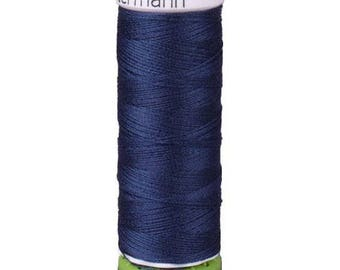 Navy Blue Gutermann Recycled Polyester Thread (GT310)