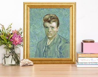 David Bowie Van Gogh Artwork