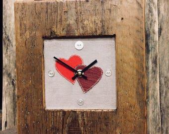 Valentine Mantle Clock