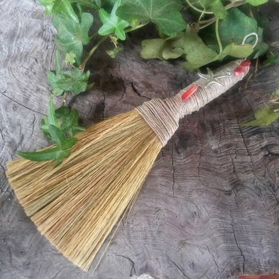 Sea Witch Broom - Witch Besom - Altar Broom - Wiccan Besom - Altar Besom - Sea Witch - Wiccan Broom - Broom - Witchcraft - Witchcraft Tools