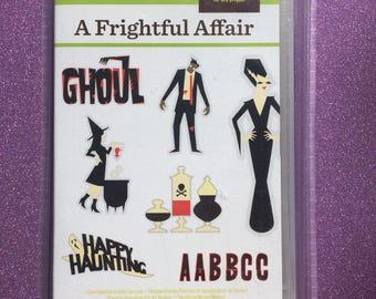 Frightful Affair Cricut cartridge--NEW!!