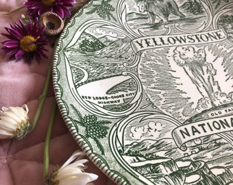 Yellowstone National Park Decorative Plate