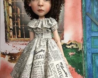 Newsy dress for Connie Lowe's Big Stella