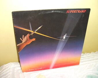 Supertramp Famous Last Words Vinyl Record Album NEAR MINT condition