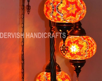 HANDMADE MOSAIC LAMPS. LIGHTING WITH by DervishHandicrafts on Etsy