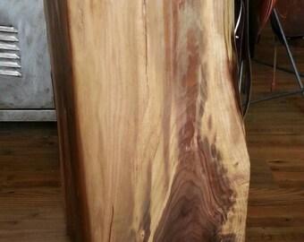 Distinctive walnut end table
