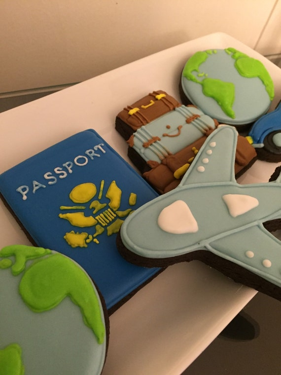 Travel cookie set