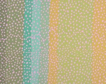 Kaffe Fassett for Rowan and Westminster Fibers - Ombre - Classics - Moss - Multi - 1/2 Yard Cotton Quilt Fabric  516