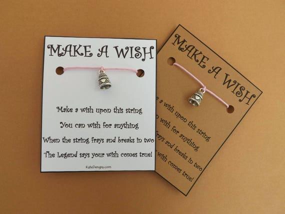 Thimble Sewing Needlecraft Wish Bracelet