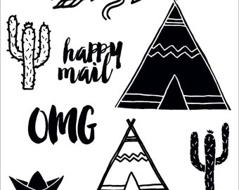 Clear stamps _ tipi _ 012