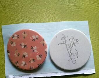 Botanical badge set