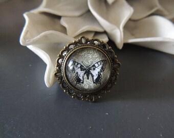 Lovely bronze Adjustable ring