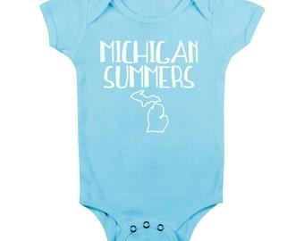 Michigan Summer Onesie