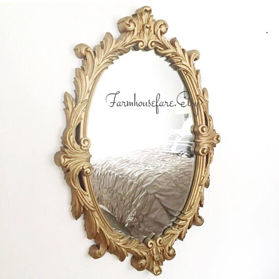 Like this item? - Oval Wall Mirror Antique Bathroom Vanity Mirror French