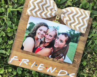 FRIENDS TV Show Inspired / F.R.I.E.N.D.S /Stained Picture Frame