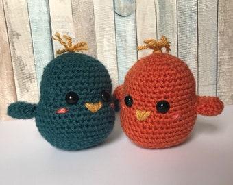 Lovebirds Crochet Amigurumi Plush