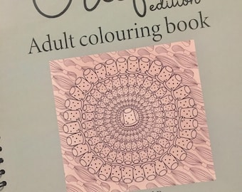 Crafty Adult Colouring Book