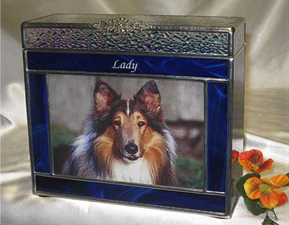 Pet urn medium 7a photo frame pet cremation urns in stained zoom solutioingenieria Choice Image
