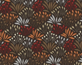 Dear Stella Nutmeg Grass in Brown by the Yard~1/2 Yards and Fat Quarters