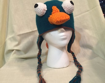 Platypus Earflap Hat