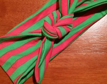 Christmas Knot Headband