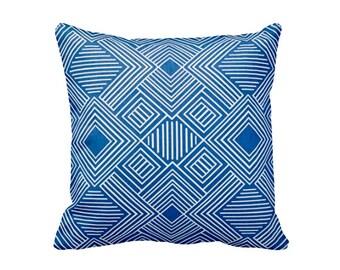 Outdoor Pillow Cover Cobalt Blue Pillow Cover Blue Throw Pillow Cobalt Pillow Cover Decorative Pillows for Couch Pillows Cobalt Blue Decor