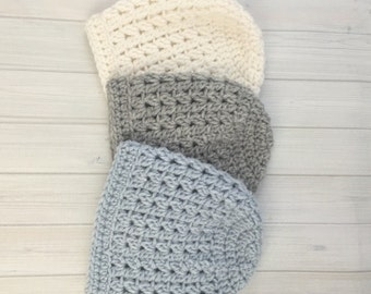 Baby Boy Hat, Baby Boy Beanie, Baby Girl Hat, Slouchy Baby Hat, Baby Photo Shoot, Slouchy Baby Boy Hat, Knit Baby Boy Hat, Crochet Baby Hat