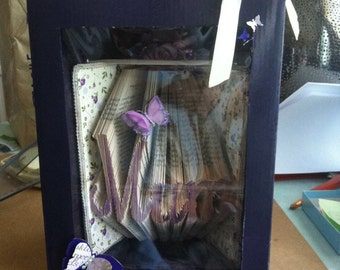 A Box for your Bookart; packaging or presentation boxes to make from recycled boxes, with step by step instructions & pattern pieces.