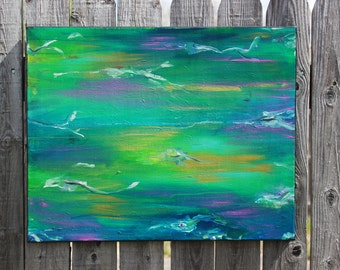 SALE*** ABSTRACT RIPPLES painting