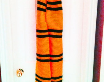 Wizarding Cosplay Scarf, Gold and Black