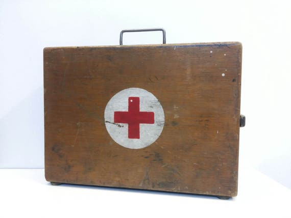 old first aid box
