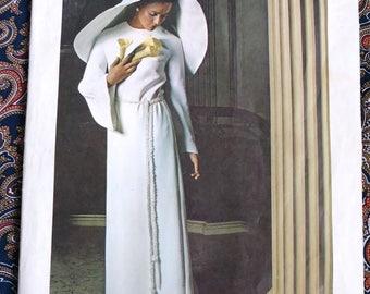 Vintage 1970s Pattern 70s Wedding Gown Bridal Dress Vogue 2315 B32.5
