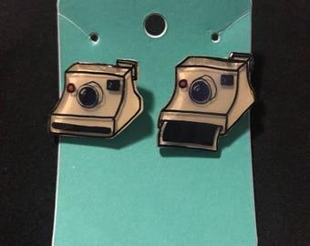 Polaroid camera pins