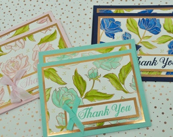 Boxed Set of Blank Thank You Cards