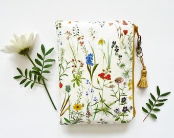 Vintage wallets for women,Girlfriend gifts, Waterproof wallet/botanical/toiletries/Make-up/Tampons/Coin Purse