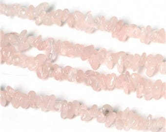 Set of 20 3 to 5 mm approx - coral stone beads Rose Quartz