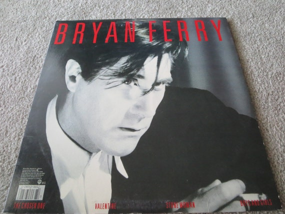 David Jones Personal Collection Record Album - Bryan Ferry - Boys And Girls