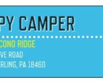 Camper Return Address Labels