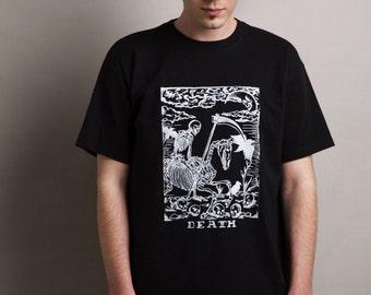 T-shirt DEATH Kromakò Handmade Silkscreen