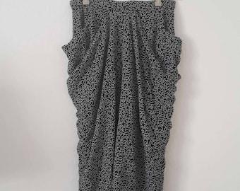 Midi high waist skirt, 36, S
