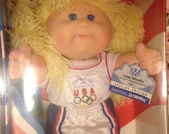 Cabbage Patch 1996 Olympikids Doll