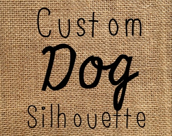 Pillow Cover | CUSTOM Dog Pillow, choose your breed | Personalized Dog Pillow | Gift for Dad | Gift for Him | Man Cave pillow | Dog Lovers