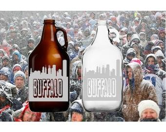 Buffalo Skyline 64oz Beer Growler